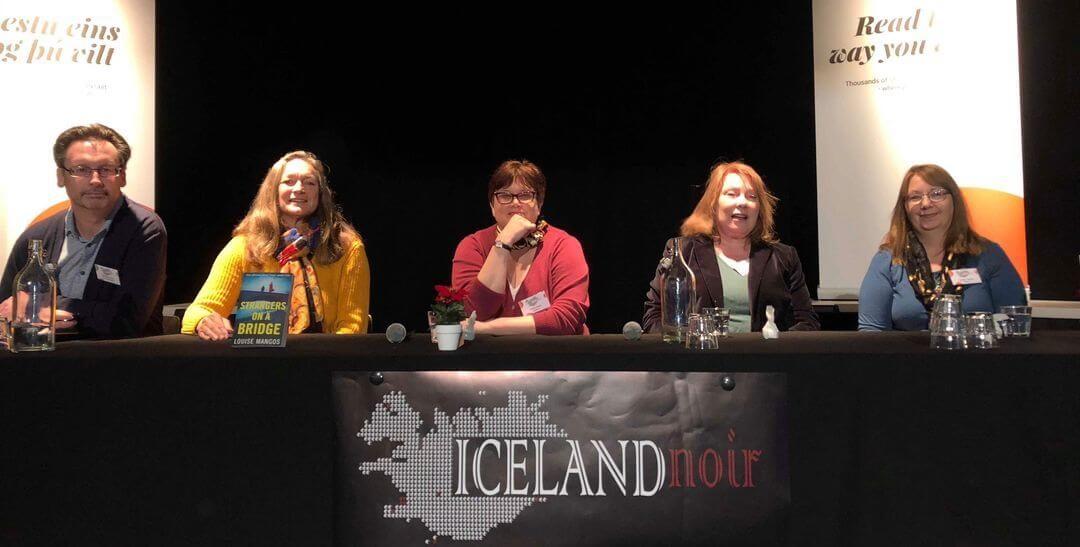 Debut Panellist at Iceland Noir